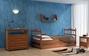 """Детская кровать """"Юниор 1"""" (Ясень)"""